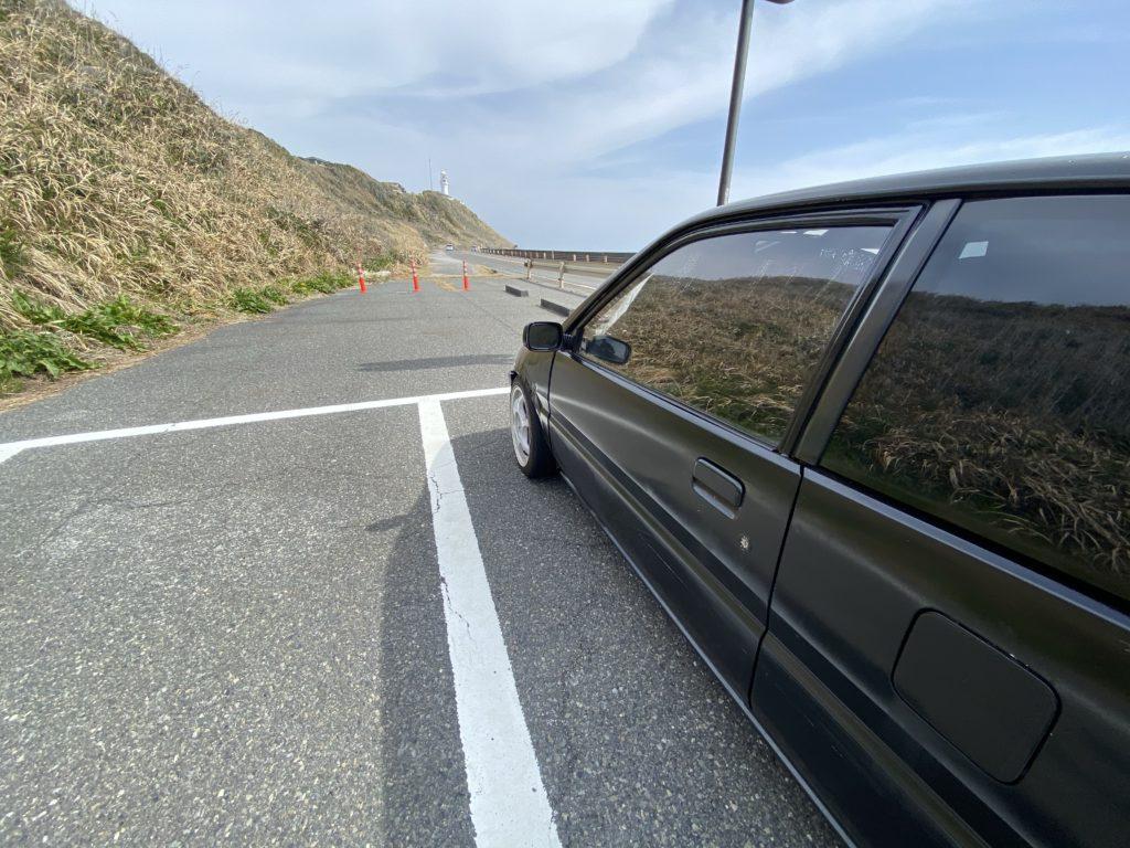 ロアアーム交換後のドライブ写真