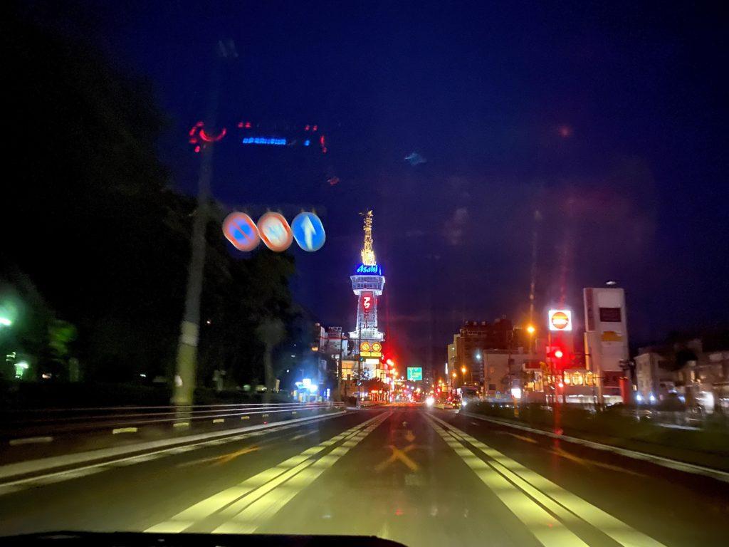 別府市をドライブした時に撮影した写真