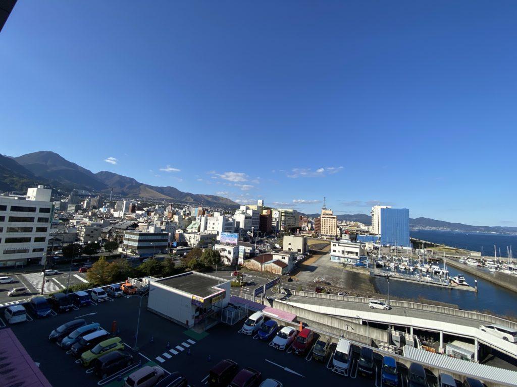 別府市の街並みを撮影した写真