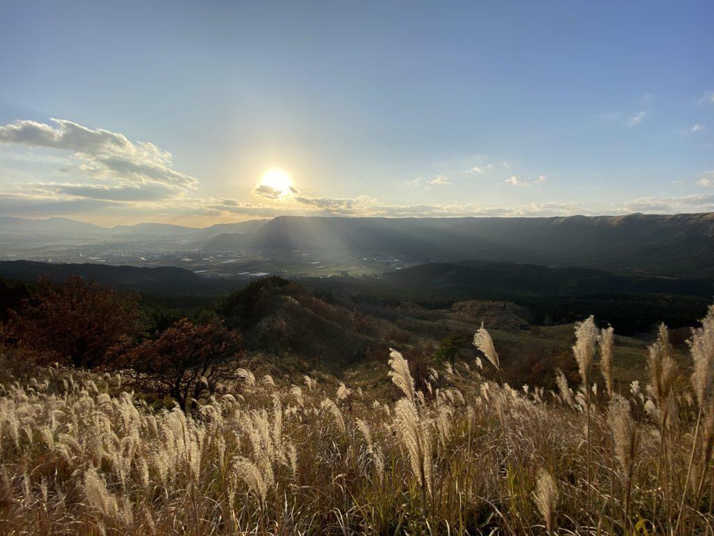 熊本県阿蘇市の風景を撮影した写真